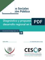 Diagnostico y Propuesta Para El Desarrollo Regional Equipo 4