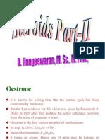 Steroids - II