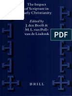 [VigChr Supp 044] J. Den Boeft, M. L. Van Poll-van de Lidonk - The Impact of Scripture in Early Christianity, 1999.pdf