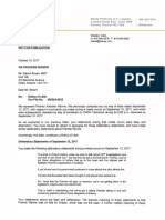 Patrick Brown Notice Letter - October 19, 2017