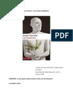 De Diego Mas, Sergi - Los Muertos, De Jorge Carrión. La Novela Multiplano.