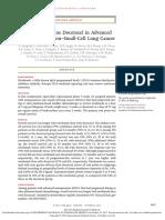 Nivolumab Versus Docetaxel in Advanced Nonsquamous NSCLC