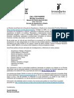 Convocatoria Papers Iconofacto n 22-01-2018