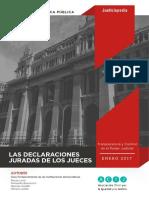 Las Declaraciones Juradas de los jueces