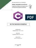 Funciones String