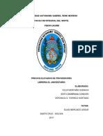 Monografia El Universitario