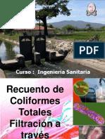 Clase 15 Coliforme Tecnica Filtracion Membrana