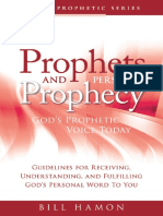 Prophets and Personal Prophecy God's Prophetic Voice Today By Bill Hamon