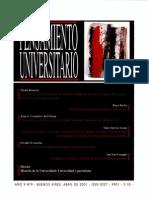 PENSAMIENTO UNIVERSITARIO 09
