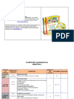 Planificare Calendar Scolar AVAP 3 CDPRESS