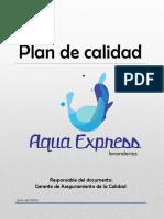 Plan de Calidad Aqua Express
