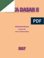 Fisika Dasar II - Mikrajuddin Abdullah - Mei 2017