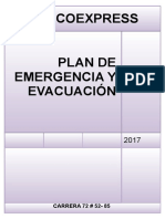 Plan de Emergencias Cindy