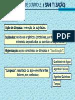 Métodos Químicos de Controle de Microrganismos (Sanitização)
