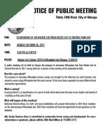 Avondale Rezoning Community Meeting