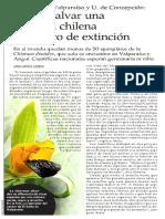Buscan Salvar Una Orquideas -El Mercurio Stgo-26!07!16