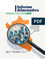 CHS Principales Hallazgos IV Informe Alternativo Final Opt
