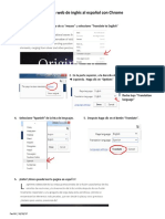 Como Traducir Una Pagina Web Con Chrome
