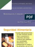 Intro Alimentacion, Consumo y Envases
