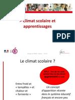 Climat Scolaire Et Apprentissages