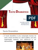 CaracterísticasTexto Dramático