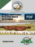 Atributos Nutricionales de La Carne Natural Del Paraguay