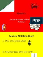 Notation Quiz