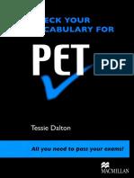 Check Your Vocabulary for PET_ All You Nee - Tessie Dalton