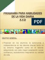 (1)AVD