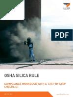 B3365 OSHA Silica Sand Rule Compliance Workbook With Checklist
