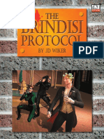 The Game Mechanics d20 Modern the Brindisi Protocol adv