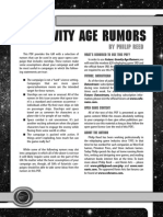 d20 Ronin Arts Future 13 Gravity Age Rumors