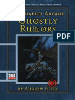 d20 Ronin Arts Athenaeum Arcane - Ghostly Rumors
