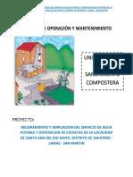 Manual de o & m -Ubs Compostera-santa Ana