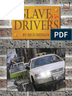 The Game Mechanics d20 Modern Slave Drivers adv