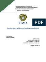 Evolución Del Derecho Procesal Civil