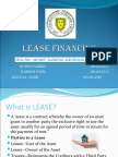 Lease Financing Ppt
