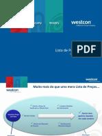 Manual Da Lista de Preços Westcon