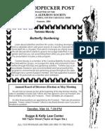 Summer 2004 Woodpecker Post Newsletter, Columbia Audubon Society