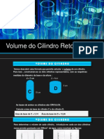 Volume Do Cilindro Reto