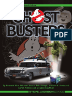 GURPS - Ghostbusters (4th Edition)