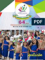 Programa 64 Años Provincialización #ZamoraChinchipe 2017