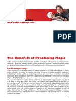 Benefits of Practicing Magic