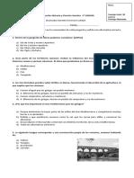 Evaluacion Intermedia Historia u 3