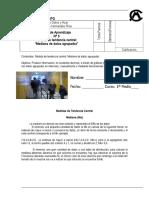 Guía Nº5_Matemática_Mediana (Medida de Tendencia Central)_1º Medio a, B y C