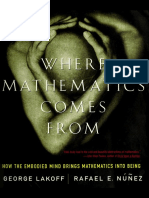 Lakoff & Núñez (2000), Where Mathematics Come From [OCR]