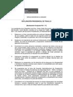 Gabinete Binacional Perú-Ecuador