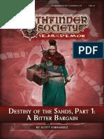 12 Destiny of the Sands Part 1 a Bitter Bargain