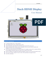 5inch HDMI Display User Manual(en)