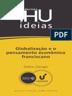 ZAMAGNI, Stefano - Globalização e o Pensamento Econômico Fransciscano - Cadernos IHU Idéias Unisinos.pdf
